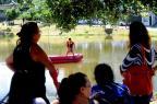 Homem está desaparecido na lagoa do Parque Oásis, em Caxias Roni Rigon/Agencia RBS