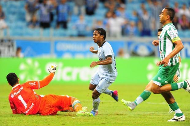 Juventude joga mal no primeiro tempo, leva goleada do Grêmio e fica na obrigação na última rodada Bruno Alencastro/Bruno Alencastro