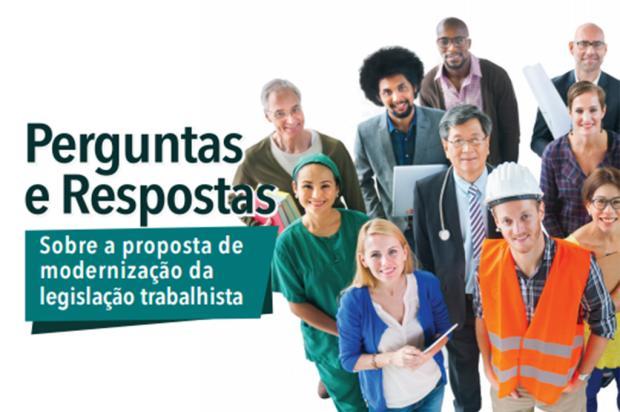 Ministério lança cartilha sobre modernização das leis trabalhistas Reprodução/