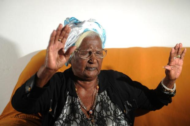 Mãe Luiza, um século de rezas Diogo Sallaberry/Agencia RBS