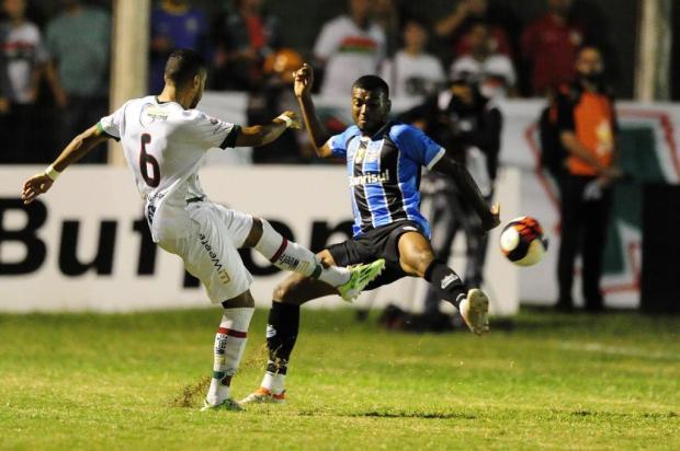 """Cacalo: """"O futuro do Grêmio no Gauchão"""" Lauro Alves/Agencia RBS"""
