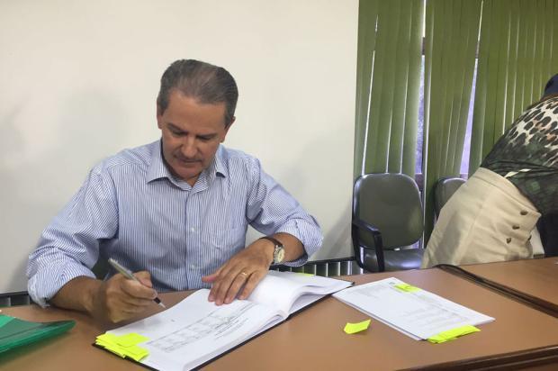Ex-prefeito de Caxias do Sul, Alceu Barbosa Velho apresenta balanço 2016 Agência RBS/