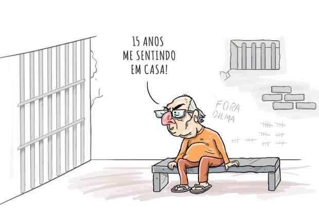 Segat: Sergio Moro condena Cunha a 15 anos de prisão... Segat/