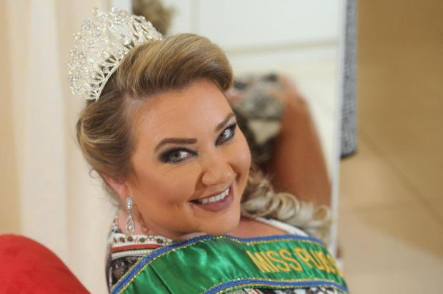 Miss Plus Size nacional irradia autoestima e fala sobre amar o corpo Diogo Sallaberry/Agencia RBS