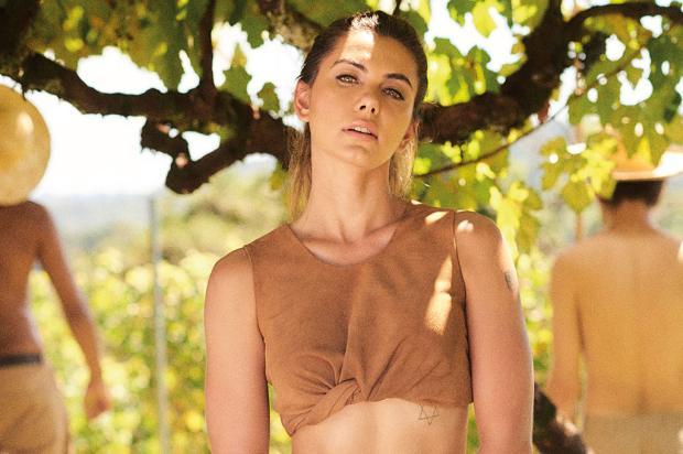 Leticia Datena escolhe as paisagens da Serra para ensaio da Playboy de abril Hick Duarte / Divulgação/Divulgação