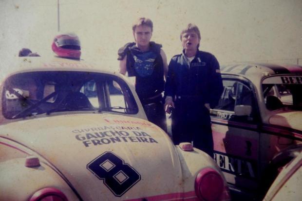Memória: Família Demore e a paixão pelos carros Reprodução/Especial