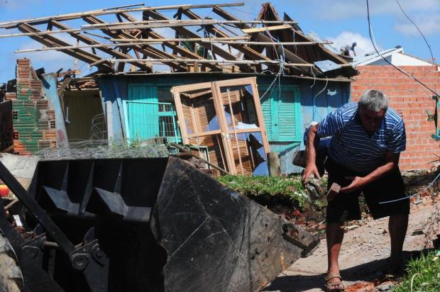 Mais de 300 famílias já receberam materiais de construção em São Francisco de Paula Roni Rigon/Agencia RBS