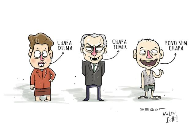 Segat: julgamento da chapa Dilma-Temer... Segat/