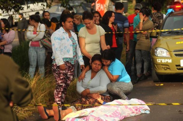 """""""A gente só ouviu a batida"""", conta irmão de criança morta em atropelamento na Rota do Sol Diogo Sallaberry/Agencia RBS"""