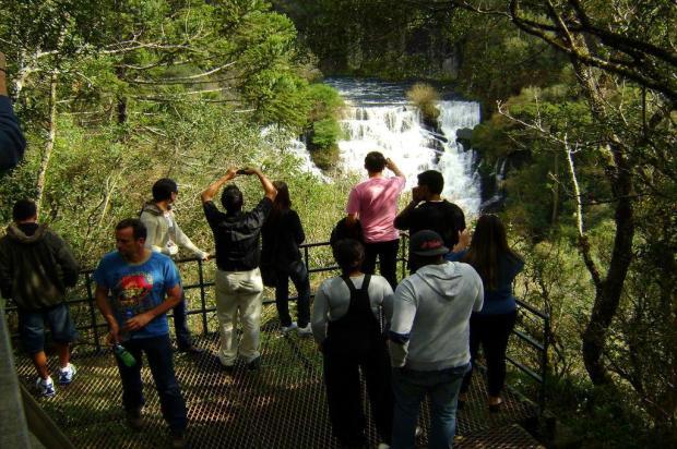 Projeto de nova escadaria do Parque do Caracol, em Canela, terá que ser refeito Marcos Nagelstein/Agencia RBS