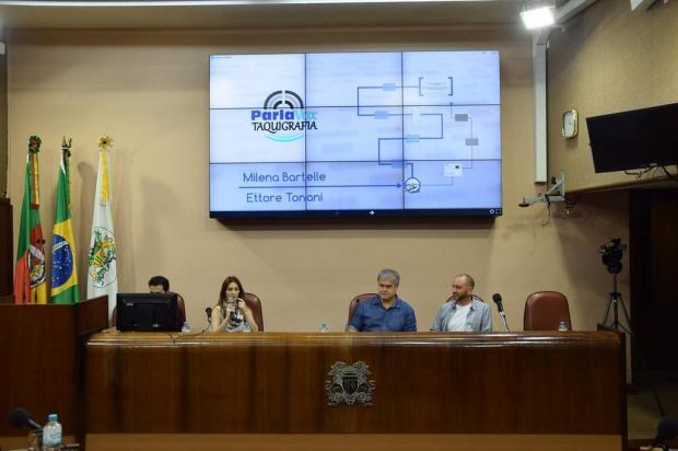 Câmara de Caxias do Sul lança ferramenta digital para divulgar discursos em plenário Matheus Teodoro/Divulgação