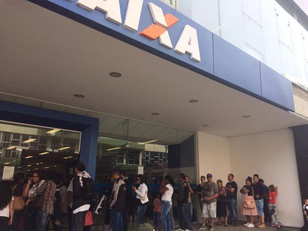 Agências da Caixa Federal registram intenso movimento em Caxias do Sul Babiana Mugnol/Gaúcha Serra