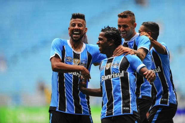 Avassalador, Grêmio goleia o Veranópolis na Arena e está na semifinal do Gauchão BRUNO ALENCASTRO/Agencia RBS