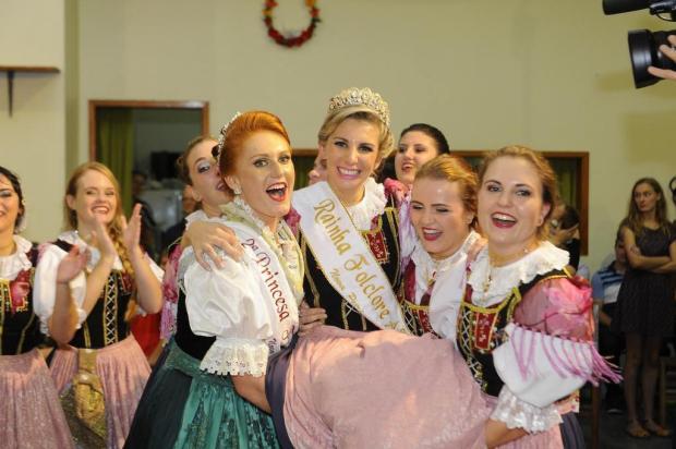 Aline Stein é eleita a Rainha do Folclore Alemão de Nova Petrópolis Margarida Neumann/divulgação