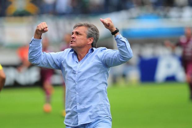 Winck elogia grupo de jogadores por terceira vitória do Caxias sobre o Juventude Porthus Junior/Agencia RBS