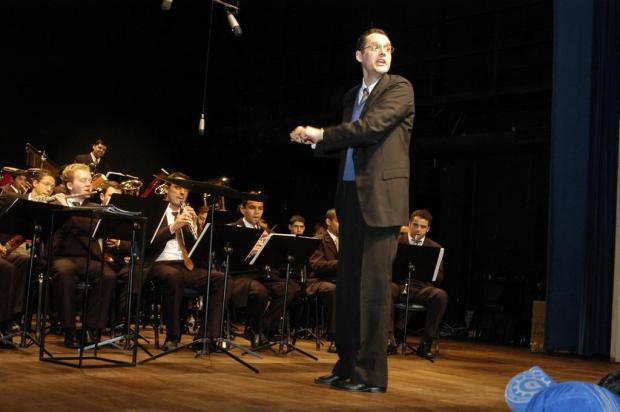 3por4: Fernando Berti assume Orquestra Municipal de Sopros de Caxias Ricardo Wolffenbüttel/Agencia RBS