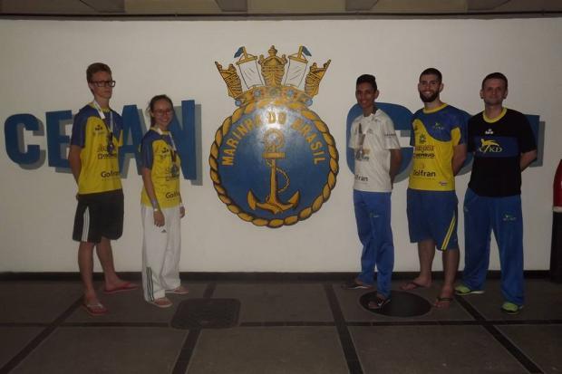 ACTKD volta do Rio de Janeiro com três atletas garantidos como suplentes da seleção brasileira ACTKD / Divulgação/Divulgação
