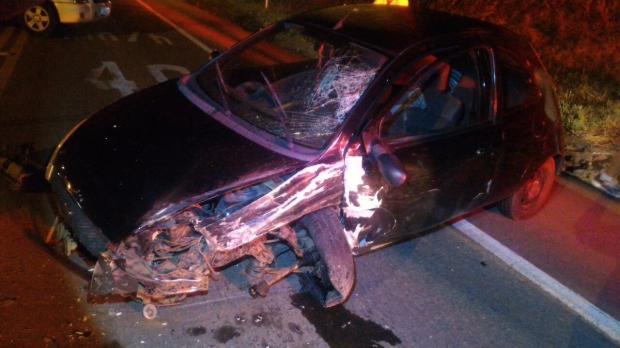 Condutor alcoolizado se envolve em acidente na BR-116, em São Marcos PRF / divulgação/divulgação