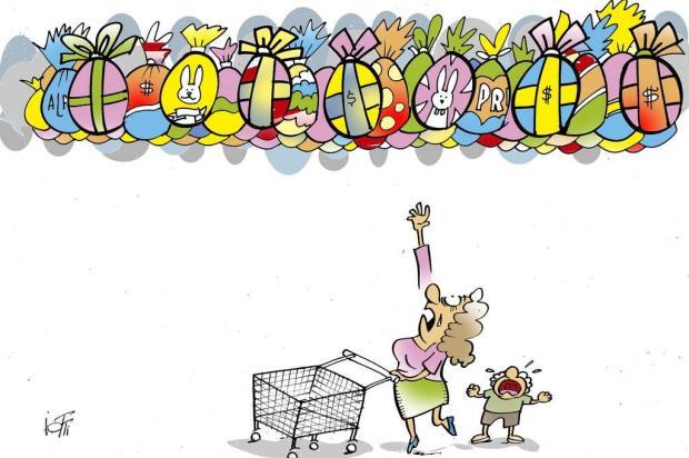 Iotti: já viu o preço dos ovos de Páscoa? Iotti/Iotti