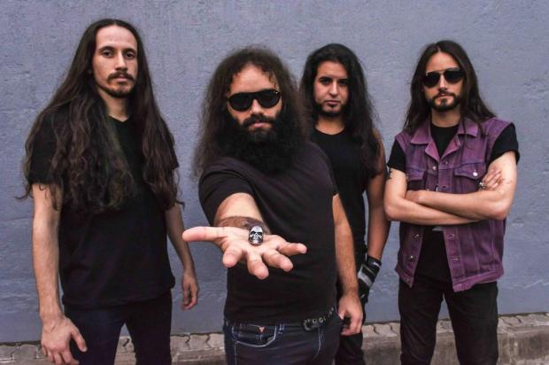 3por4: Banda Tears Öf Rage grava DVD em Caxias Maicon Almeida/Divulgação