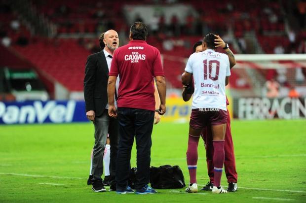 Zago afirma que médico do Caxias ofendeu jogadores do Inter Porthus Junior/Agencia RBS