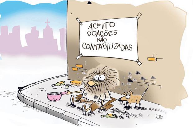 Iotti: as doações não contabilizadas... Iotti/