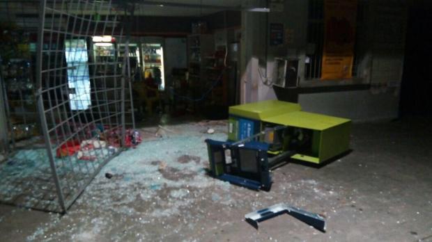 Serra registra quarto ataque a caixa eletrônico em menos de uma semana Arquivo Pessoal/Divulgação