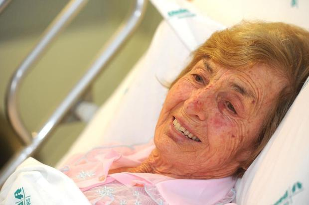 """Só eu sei o que passei lá"", diz idosa que se perdeu em matagal no interior de Caxias Diogo Sallaberry/Agencia RBS"