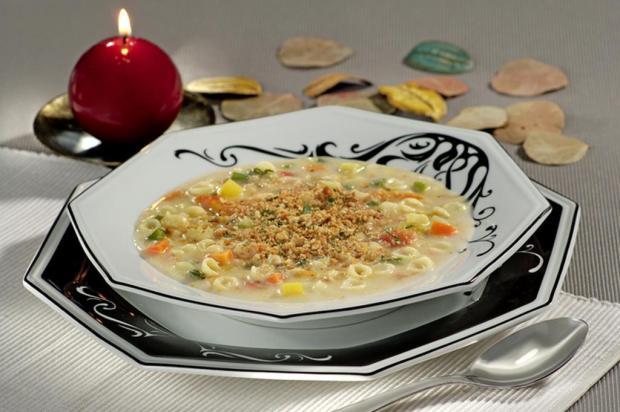Aprenda a fazer uma deliciosa sopa cremosa de legumes com queijo Isabela/Divulgação