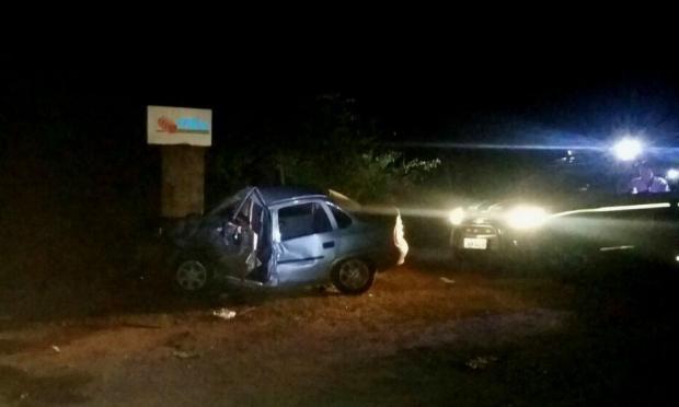 Cinco pessoas ficam feridas em acidente na BR-285, em localidade de Vacaria Polícia Rodoviária Federal  / Divulgação/Divulgação