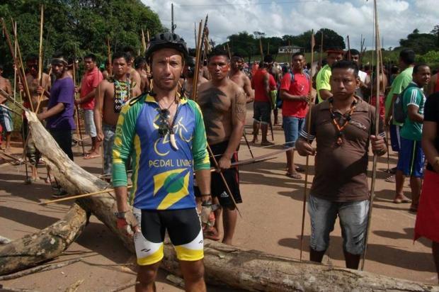 Ciclista que pedalou de Caxias ao México com R$ 500 retorna após 20 meses de aventura Divulgação/Arquivo Pessoal