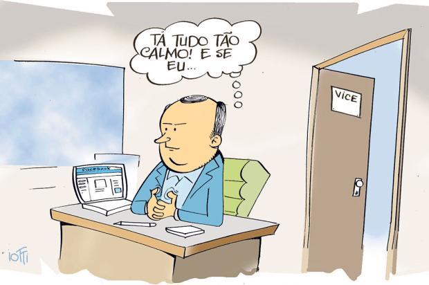 Iotti: enquanto isso, no gabinete do vice-prefeito de Caxias do Sul... Iotti/