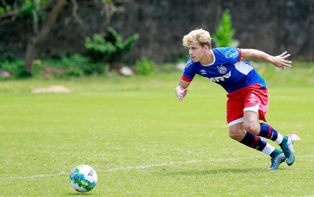 Emprestado pela Chapecoense, atacante Wesley Natã reforça o Juventude na Série B Felipe Oliveira / E.C. Bahia/Divulgação/E.C. Bahia/Divulgação