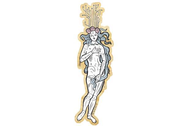 Nivaldo Pereira: Vênus no espelho Charles Segat/