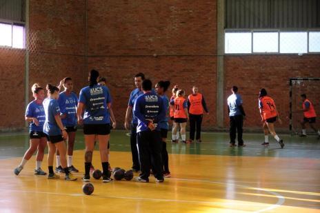 Apahand/UCS/Farroupilha disputa torneio em Campo Bom (Marcelo Casagrande/Agencia RBS)
