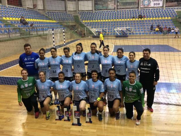 Apahand/UCS/Farroupilha e Recreio da Juventude conquistam títulos do Aberto de Campo Bom Apahand/UCS/Farroupilha / Divulgação/Divulgação