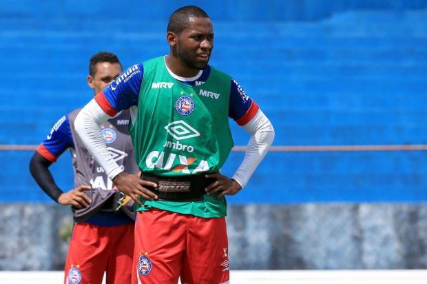 Emprestado pelo Bahia, lateral-direito Tinga chega para ser reforço do Juventude na Série B Felipe Oliveira/EC Bahia