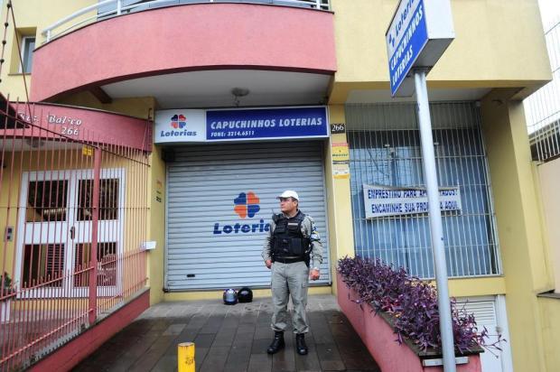 Lotérica onde ladrão foi baleado em Caxias do Sul já foi assaltada seis vezes Porthus Junior/Agencia RBS