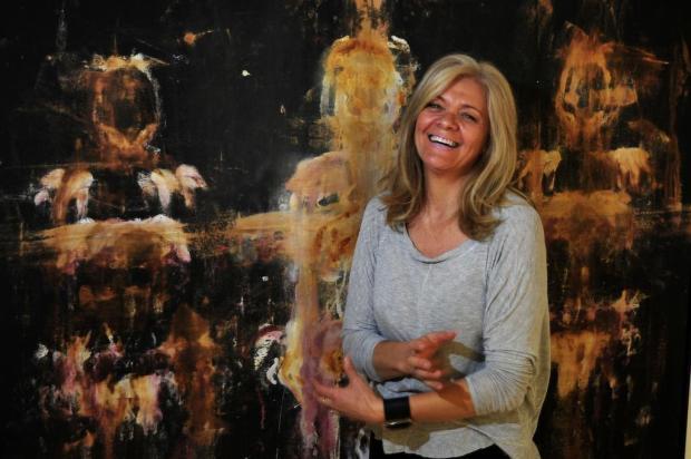 "Mostra da artista Tere Finger, ""Das dores às cores"" pode ser visitada até dia 27 de maio em Caxias Marcelo Casagrande/Agencia RBS"