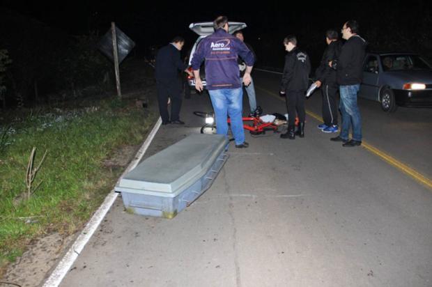 Ciclista morre atropelado em Boa Vista do Sul Altamir Oliveira / Estação FM/ Divulgação/Estação FM/ Divulgação