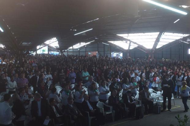 Jornada reúne mais de 6 mil catequistas em Caxias do Sul Margô Segat / Divulgação/Divulgação