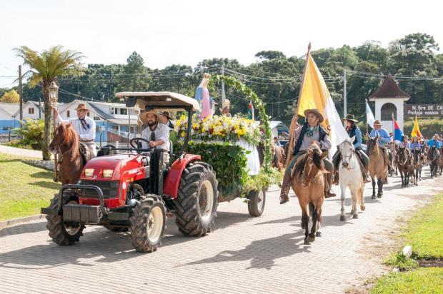 Cavalgada da Fé inicia homenagens a Nossa Senhora de Caravaggio, em Canela Diego Santos/Estrategiacom