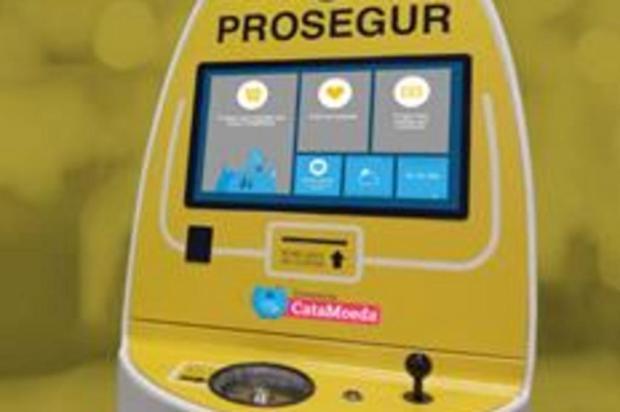 Supermercado de Caxias instala oCataMoeda Patricia Pesce/divulgação