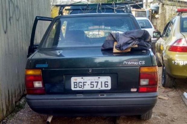 Homem com antecedentes é preso com veículo furtado, em Caxias do Sul Brigada Militar/Divulgação