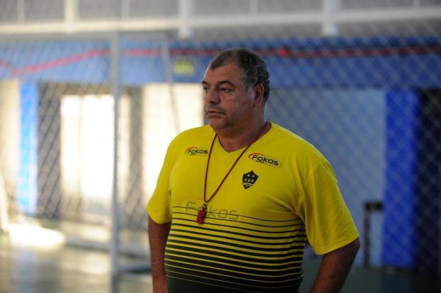 Técnico Paulo Boff deixa o comando do Flores da Cunha Futsal Felipe Nyland/Agencia RBS