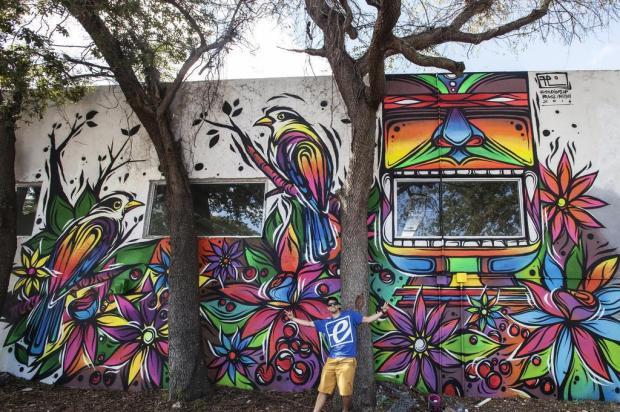 3por4: Grafiteiro Fábio Panone Lopes participa de projeto em Miami Acervo pessoal/Divulgação