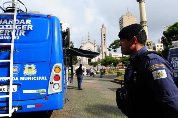 Posto da Guarda Municipal em praça vira referência contra a insegurança no Centro de Caxias Roni Rigon/Agencia RBS