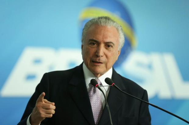 Temer é gravado dando aval para compra do silêncio de Cunha, diz jornal Valter Campanato/Agência Brasil