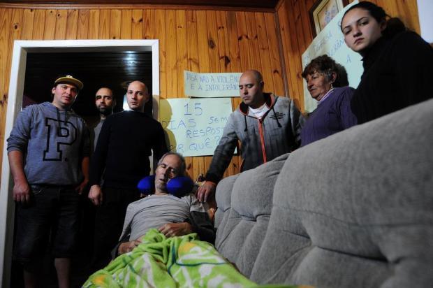 Sindicalista atropelado na greve geral em Caxias do Sul volta para casa com lesão cerebral Marcelo Casagrande/Agencia RBS
