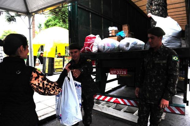 Primeira ação da Campanha do Agasalho de Caxias reúne milhares de peças doadas Roni Rigon/Agencia RBS